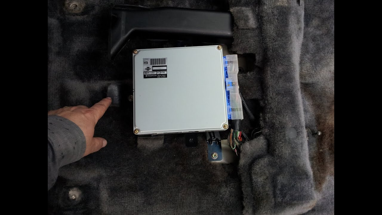 95 pathfinder d21 o2 sensor change with ecm code erase part 2 [ 1280 x 720 Pixel ]