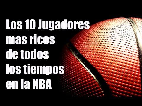 Top 10 Jugadores MAS RICOS de la NBA