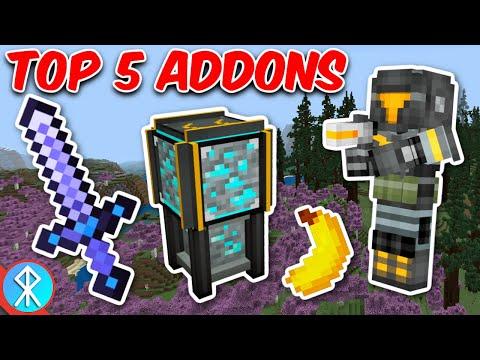 Top 5 Addons Of 2021 So Far (Bedrock/MCPE/Xbox Minecraft)