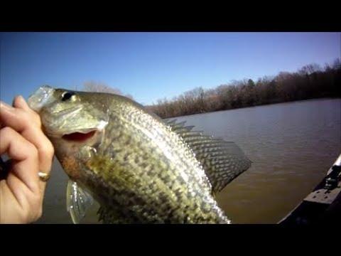 Prespawn Crappie Fishing March 2018