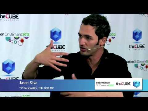 IBM Interview Jason Silva at IBM Info on Demand Conference
