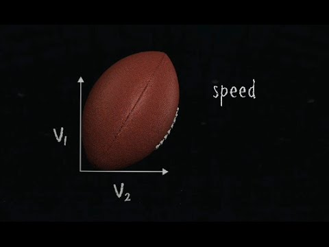projectile motion parabolas science of nfl football youtube. Black Bedroom Furniture Sets. Home Design Ideas