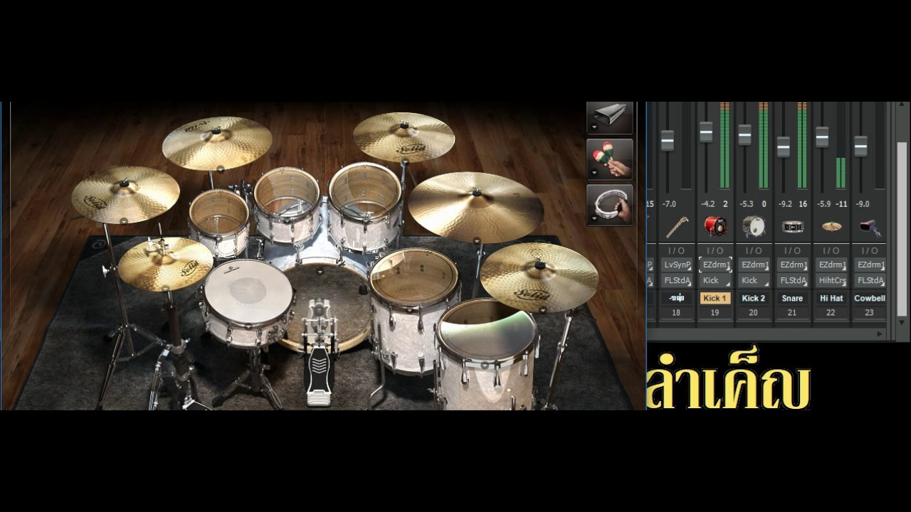 SF2 + ezDrummer2 Project Test