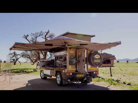 4x4 Luxury Camper Rentals Namibia