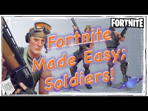 Fortnite; All the Soldiers