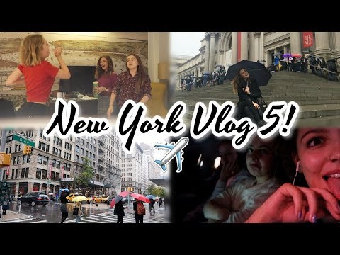 The Rainiest Day, Taxi Karaoke & Travelling Home! NYC Vlog 5 | BeautySpectrum