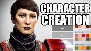 DESTINY 2 - Character Creation  - All Races - Human / Awoken / EXO