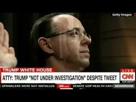 ATTY: TRUMP ''NOT UNDER INVESTIGATION'' DESPITE TWEET ON CNN Breaking News