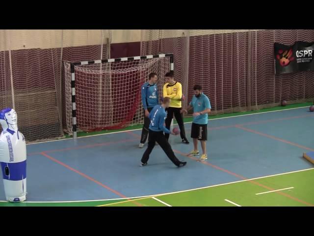 Wyszkolenie bramkarza /ćwiczenia refleksowo–szybkościowe