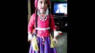 Fancy dress competition ....acted as a kashmir girl