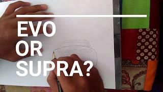 How To Draw Supra & Evo