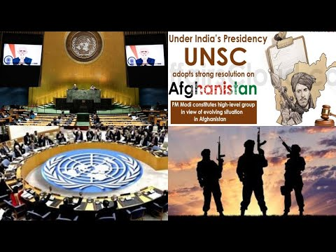 Afghanistan not to be used to train terrorists: UNSC resolution under India's Presidency