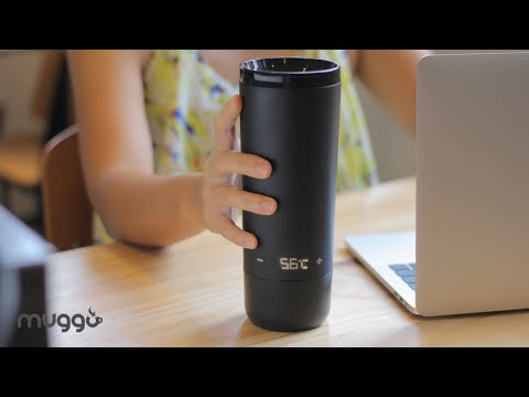 Muggo – Smart Self-Heating Travel Mug by OUISMART