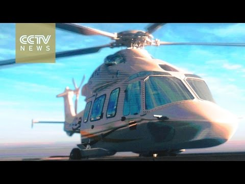 China's new twin-engined helicopter completes maiden flight