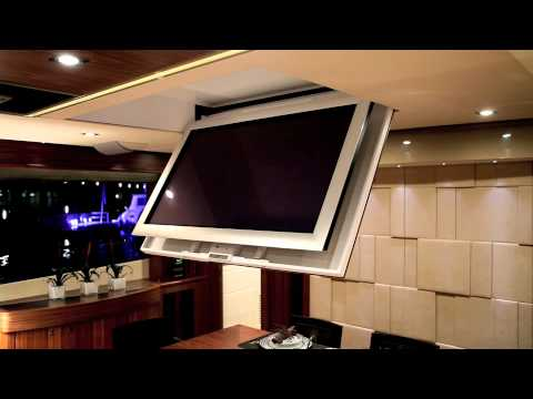 future automation ch marine tv ceiling hinge - Tv Ceiling Mount