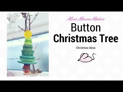 how-to-make-a-button-christmas-tree-decoration,-button-crafts