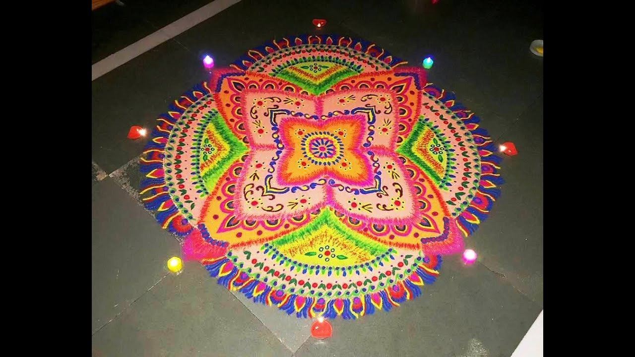 Image result for rangoli images with free hand