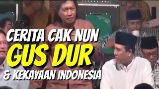 Cerita Cak Nun tentang Harta Karun Indonesia Masa Kerajaan Untuk Nanti dan Gusdur Lucu Masa Dekrit
