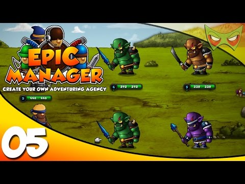 Epic Manager Gameplay / Epic Manager Let's Play - Ep 05 - Beating Up Orcs