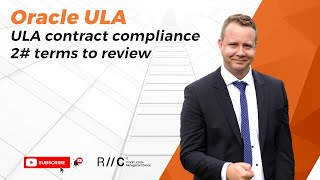 2 ULA terms that Oracle will review when you want to exit.