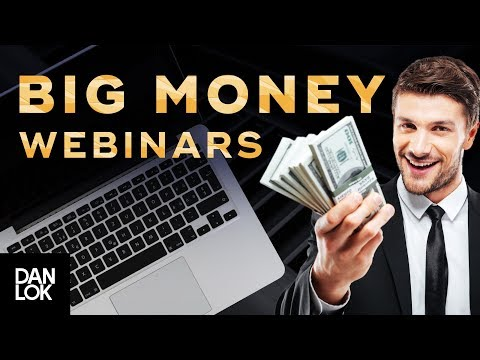 How To Make Big Money With Webinars |  High Converting Webinar Secrets Ep. 8