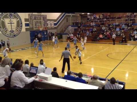 Mishawaka Marian vs. South Bend St. Joseph High School girls basketball