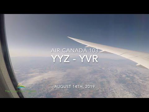 Air Canada 103 | Toronto (YYZ) - Vancouver (YVR) | Trip Report 2019