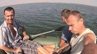 Рибалка. Вилов бичка з човна 2016