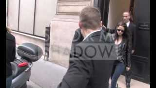 Kristen Stewart and Robert Pattinson going for lunch with Paul McCartney in Paris