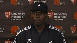 Josh Gordon: Right now I'm focused on football