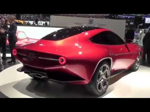 Alfa Romeo Disco Volante Concept Car 2012 By Touring Youtube