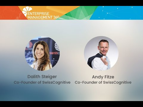 Tech Chat Episode 37: Dalith Steiger and Andy Fitze from SwissCognitive