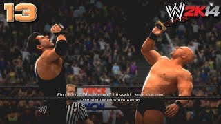 WWE 2K14: 30 Years of WrestleMania #13 - What the hell?