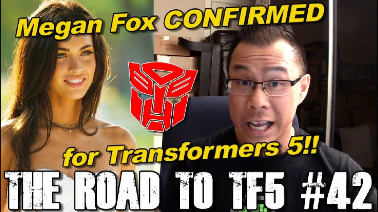BREAKING! Megan Fox confirmed to be in Transformers 5 ...