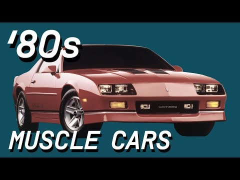 Top 8 Coolest 1980s Muscle Cars