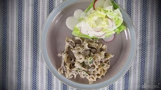 Beef Recipes - How To Make Simple Hamburger Stroganoff