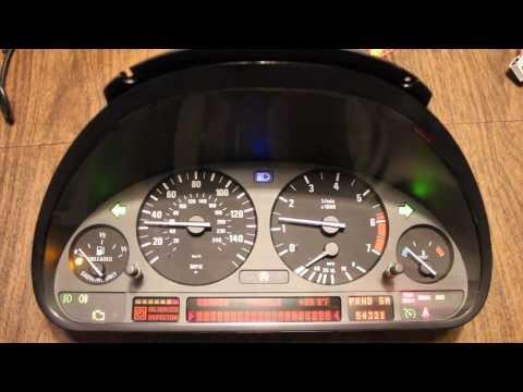 Remanufactured BMW E38 E53 instrument cluster 0 miles