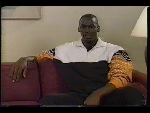 VERY RARE: Michael Jordan (Age 23) Documentary by Jeannie Morris (1986)
