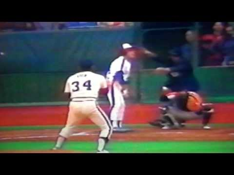 Nolan Ryan Breaks Walter Johnson