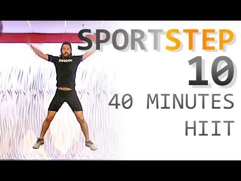 SPORTSTEP 10 - 40 MINUTES HIIT