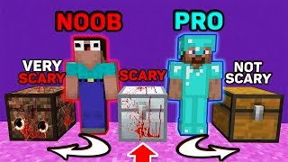 Minecraft NOOB vs PRO : Which CHEST Choosen NOOB and PRO? ANIMATION 3:00AM