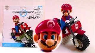 Super Mario Bros: Mario Kart Wii K'nex Mario and Standard Bike Building Set