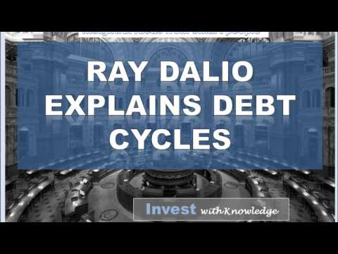 Ray Dalio's debt cycle explanation is essential to understand
