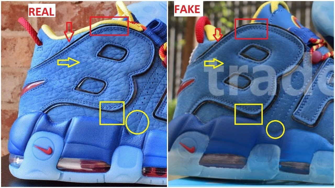 8333d62ee8f Fake Nike Air More Uptempo Doernbecher Spotted- Quick Tips To identify Them