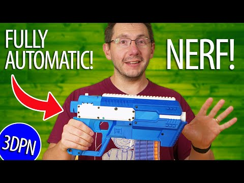 Fire Nerf Darts FAST - 3D Printing The Project FDL3 Blaster For ERRF!