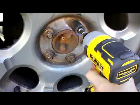 Dewalt DCF787 1/4 inch impact driver v. Civic and Navigator lug nuts
