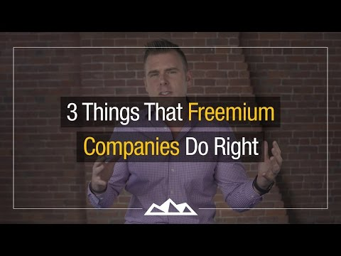 How To Build a Great Freemium SaaS Company | Dan Martell