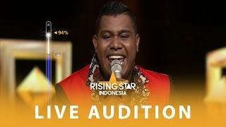 Download lagu Andmesh Kamaleng Say You Won t Let Go Live Audition 4 Rising Star Indonesia 2016