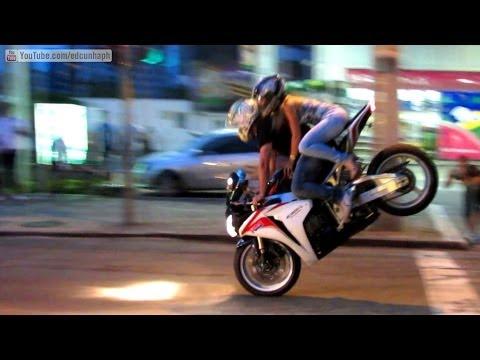Best of Bikers 2013 - Superbikes Burnouts, Wheelies, RL, Revvs and loud exhaust sounds!