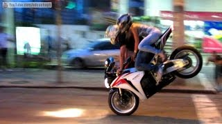 Best of Bikers 2013 - Superbikes Burnouts, Wheelies, RL, Revvs and loud exhaust sounds!